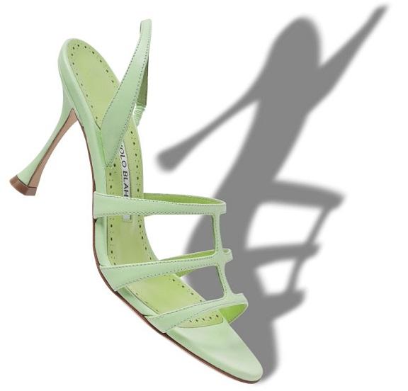 Pastel Green sandal