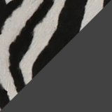 Zebra Print Calf Hair Lace-Up Boots