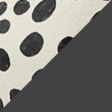 Monochrome Polka Dot Snakeskin Slingback Pumps