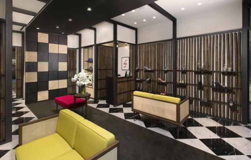 Manolo Blahnik Opens New Store in Singapore