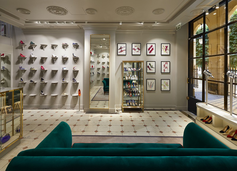 Paris Store Inside View
